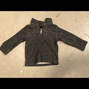 Children's Place Pullover EUC Dark Grey